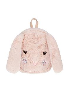monsoon-cheeky-fluffy-bunny-backpack