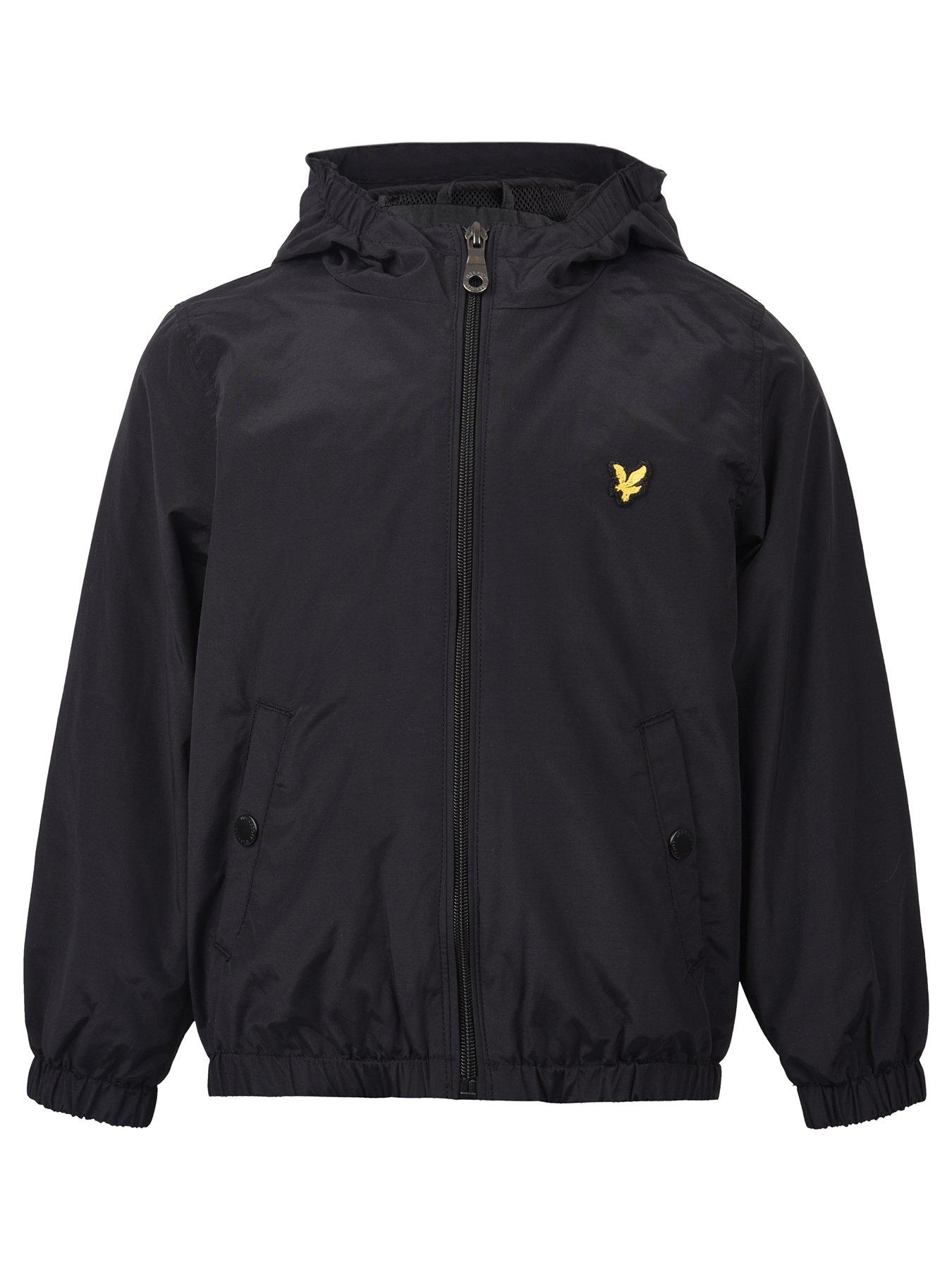Lyle & Scott Boys Windcheater Zip Through Hooded Jacket