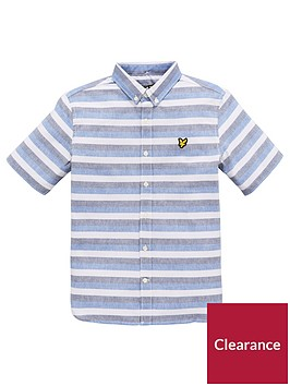 lyle-scott-boys-geometric-print-shirt