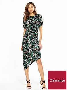 v-by-very-asymmetricnbsphem-ruched-midi-dress