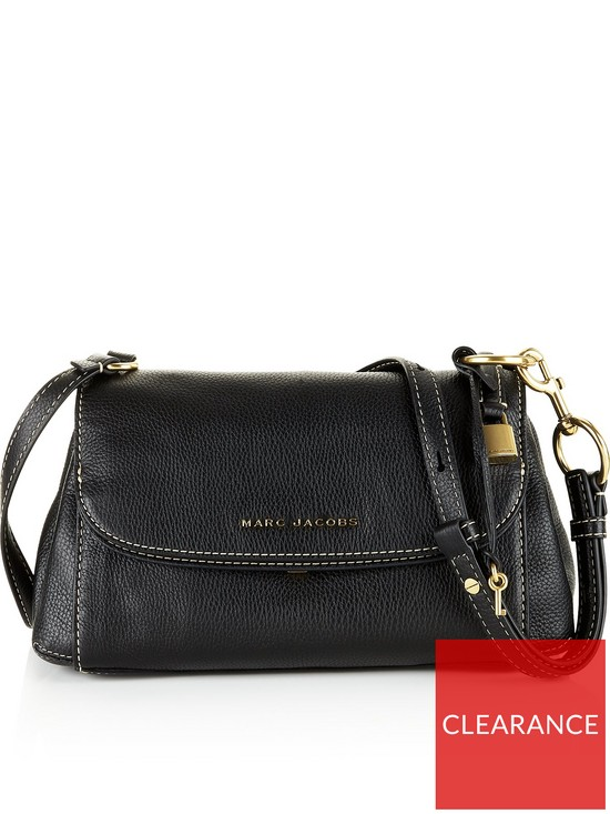 aef8cfab8 MARC JACOBS The Boho Grind Cross-Body Bag - Black | very.co.uk