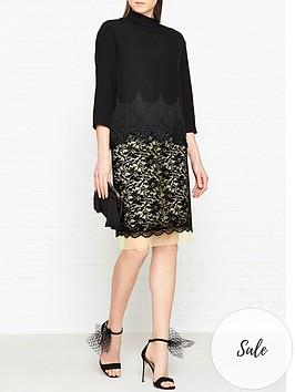 marc-jacobs-flocked-lace-skirt-with-scalloped-hem-blacklemon