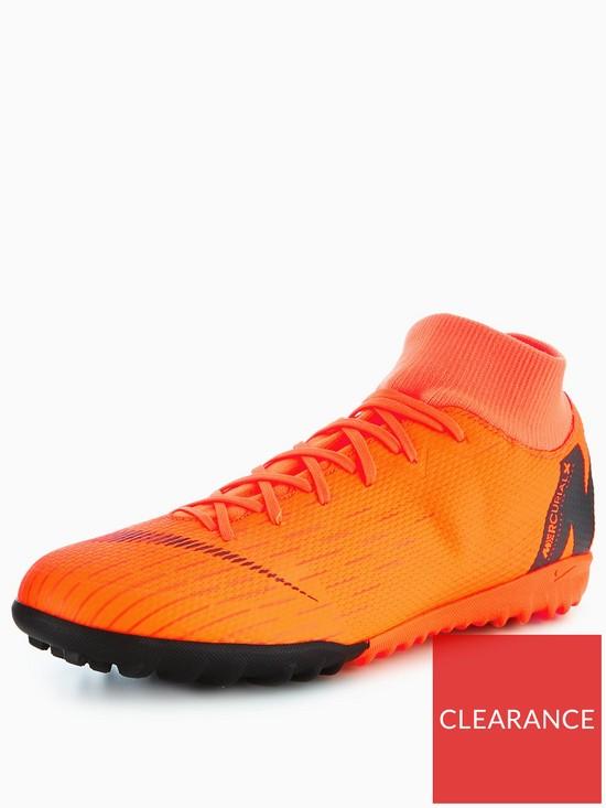 Nike Nike Mens Mercurial Superfly 6 Academy Astro Turf Football Boot ... 3c43fdbb7ae48