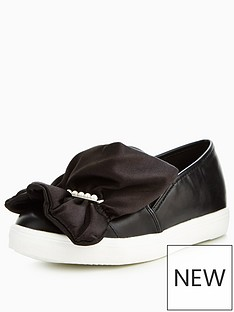 lost-ink-ruffle-pearl-bar-slip-on-plimsoll