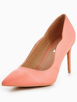 lost-ink-wide-fit-mid-heel-court-coralnbsp