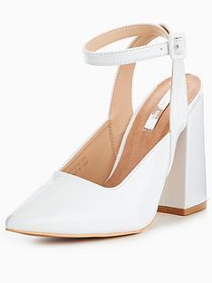 lost-ink-flared-ankle-strap-court-shoe-white