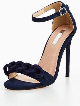 lost-ink-wide-fit-chain-trim-heeled-sandal-blacknbsp