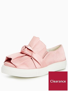 lost-ink-knotted-bow-slip-on-plimsoll-light-pink