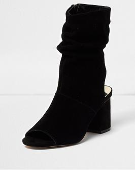 river-island-river-island-suede-slouch-shoe-boot--black
