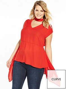 v-by-very-curve-choker-hankynbsphem-blouse