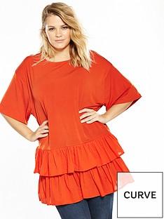v-by-very-curve-woven-hem-t-shirt