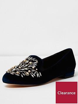river-island-embellished-slipper