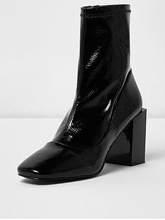 river-island-river-island-raine-block-heel-patent-boot