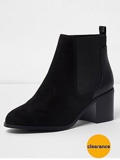 river-island-river-island-block-heel-chelsea-boot--black