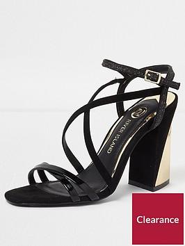 river-island-river-island-strappy-block-heel-sandal--black