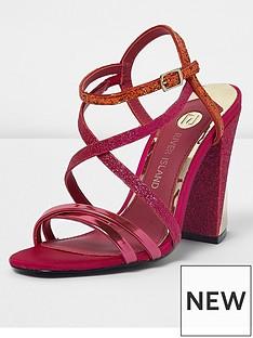 river-island-river-island-asymmetric-block-heel-sandals--pink