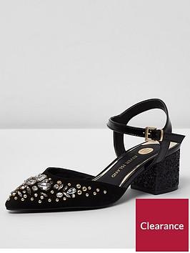 river-island-river-island-wide-fit-embellished-pointed-block-heel-sandal--black