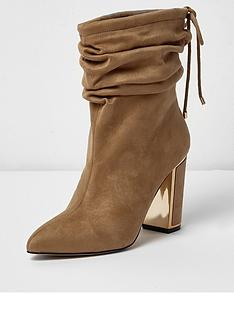 river-island-river-island-slouch-gold-trim-block-heel-boots--camel