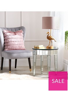 michelle-keegan-home-vegas-mirrored-occasional-lamp-table