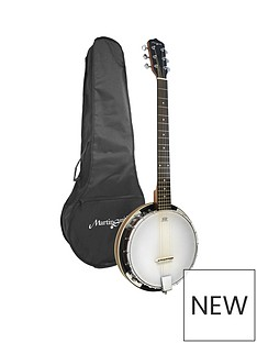 martin-smith-6-string-banjo