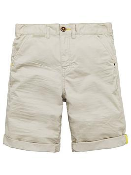 V By Very Boys Fashion Chino Short - Stone thumbnail