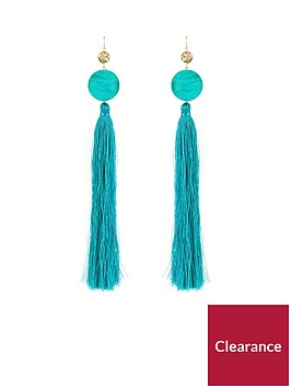 v-by-very-oversized-statement-tassel-earrings-teal