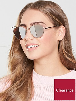 v-by-very-butterflynbspframe-mirror-lens-sunglasses-rose-gold
