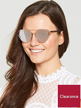 v-by-very-mirror-metal-frame-brow-bar-sunglasses-rose-gold