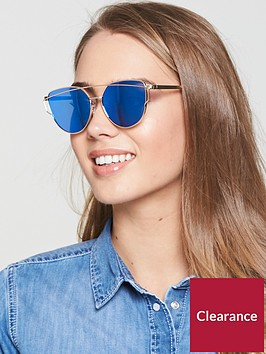 v-by-very-mirror-metal-frame-brow-bar-sunglasses-goldblue