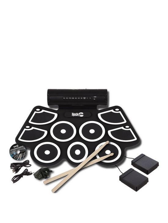 half off f939c e0eb5 RockJam RJ760MD Roll Up Drum Kit