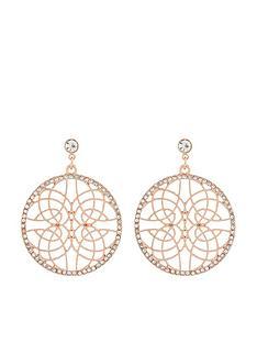 accessorize-diamante-filigree-earrings