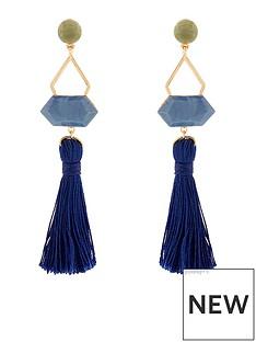 accessorize-boho-statement-tassel-earrings