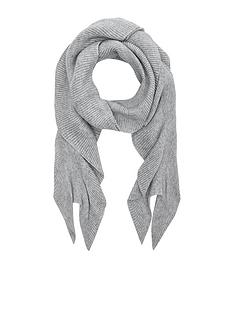 accessorize-ribbed-frill-scarf-grey