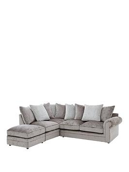 gleam-left-hand-fabric-scatter-back-corner-chaise-sofa-with-matching-footstool