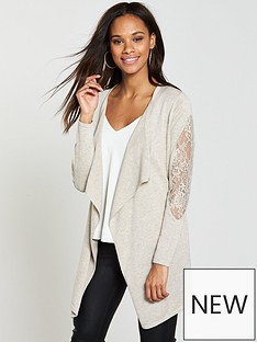v-by-very-lace-insert-belted-cardigan-ndash-mink