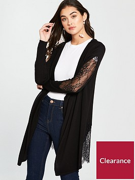 v-by-very-lace-insert-belted-cardigan-ndash-black