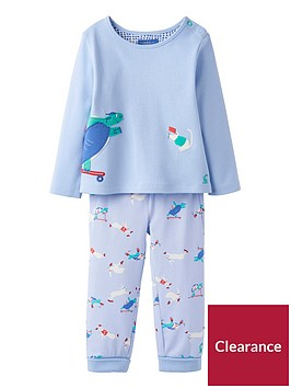 joules-baby-boys-2-piece-byron-appliquenbspjersey-and-bottoms-pyjama-set