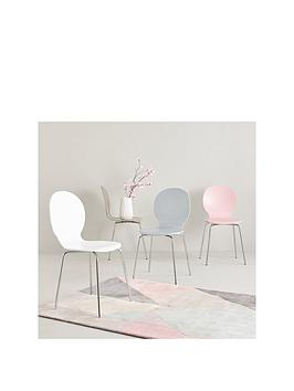 roma-set-of-4-dining-chairs-white-stone-rose-and-grey