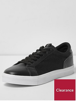 river-island-river-island-seattle-mesh-side-trainer-black
