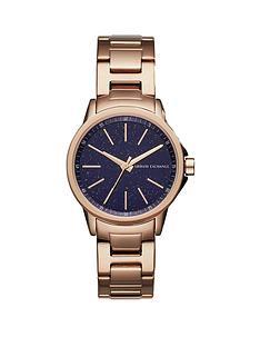 armani-exchange-armani-exchange-smart-rose-gold-plated-stainless-steel-bracelet-ladies-watch