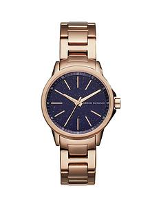 armani-exchange-rose-gold-plated-stainless-steel-bracelet-ladies-watch