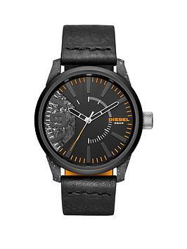 diesel-diesel-rasp-matte-black-stainless-steel-leather-strap-gents-watch