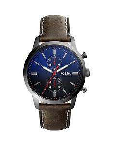 fossil-fossil-townsman-smoke-ip-stainless-leather-strap-gents-watch