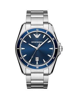 emporio-armani-blue-dial-stainless-steel-bracelet-mens-sport-watch