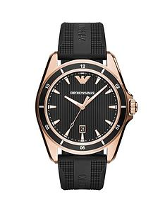 emporio-armani-ar11101nbspmatte-black-rubber-strap-and-rose-gold-tone-mens-watch