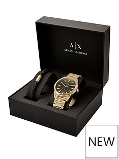 armani-exchange-armani-exchange-smart-gold-plated-stainless-steel-bracelet-gents-watch
