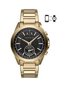 armani-exchange-armani-exchange-connected-gold-plated-stainless-steel-hybrid-smartwatch