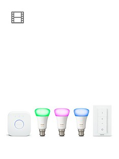 philips-hue-white-and-colour-ambiance-b22-starter-with-hue-lightstrips-2m