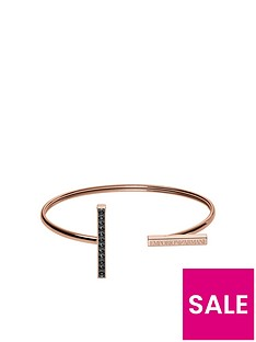 emporio-armani-stainless-steel-rose-gold-plated-bangle-with-crystals