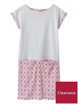 joules-girls-karolina-jersey-dress-cream-summer-mosaic